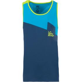 La Sportiva Dude Sleeveless Shirt Men blue/turquoise